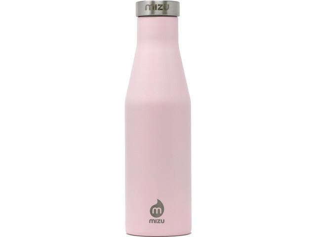 MIZU S4 Enduro Bottle 400ml with Stainless Steel Cap soft pink